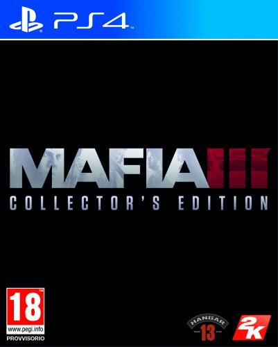 MAFIA 3 COLLECTOR'S EDITION  PS4