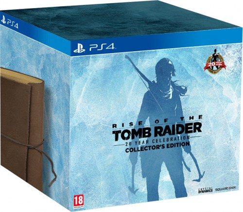 RISE OF THE TOMB RAIDER 20 YEAR CELEBRATION (COLLECTOR'S EDITION) PS4