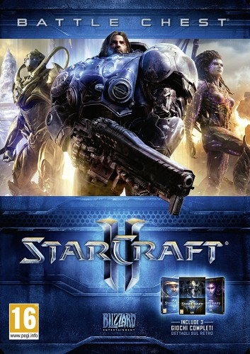STARCRAFT 2 BATTLE CHEST (WIN.OF LIB.+HEA O.T.SWA+LEG.O.T.V)