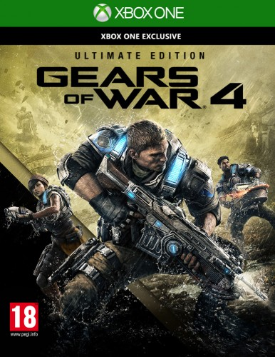 GEARS OF WAR 4 (ULTIMATE EDITION) XBOXONE
