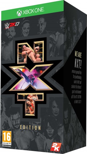 WWE 2K17 (NXT COLLECTOR'S EDITION) XBOX ONE